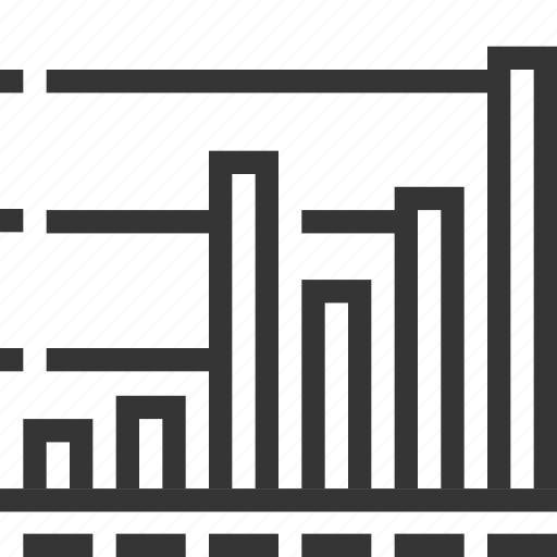 analytics, chart, diagram, financial report, graph, growth, statistics icon