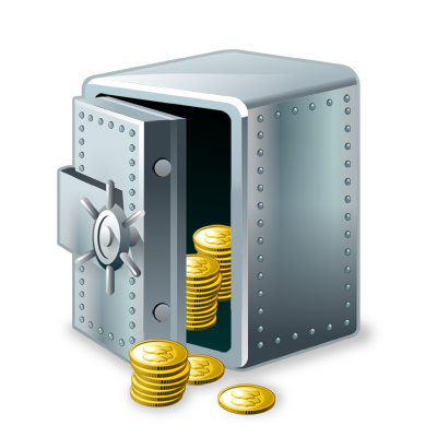 keep, money, safe, vault icon