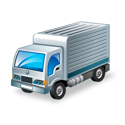 goods, transport, truck icon