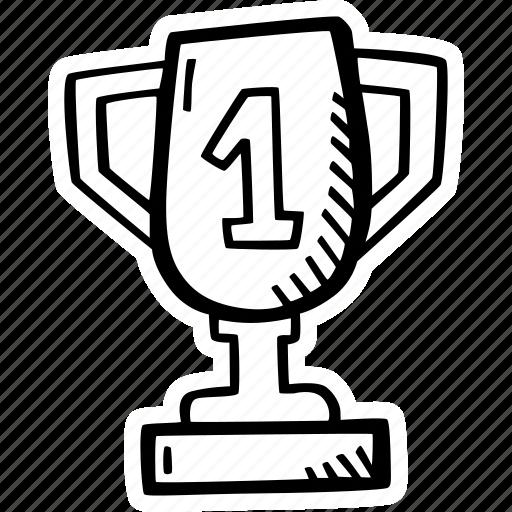 achievement, award, goal, goblet, prize, success icon