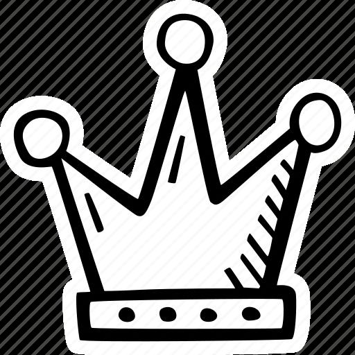 achievement, action, crown, direction, goal, king, success icon