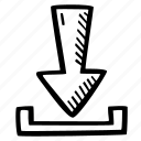 achievement, action, direction, download, goal, success icon