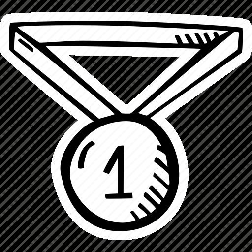 achievement, award, goal, medal, prize, success icon