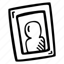 frame, photo, picture, portrait icon