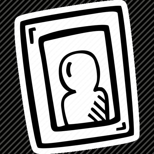 frame, photo, picture, portrait icon