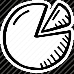 achievement, action, chart, direction, goal, pie, success icon