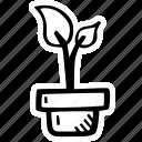 achievement, action, direction, goal, growth, plant, success icon