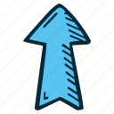 achievement, action, arrow, direction, goal, success, up icon
