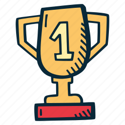 achievement, award, goal, goblet, prize, success icon