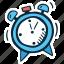 action, clock, motivation, sound, success, time, timer icon