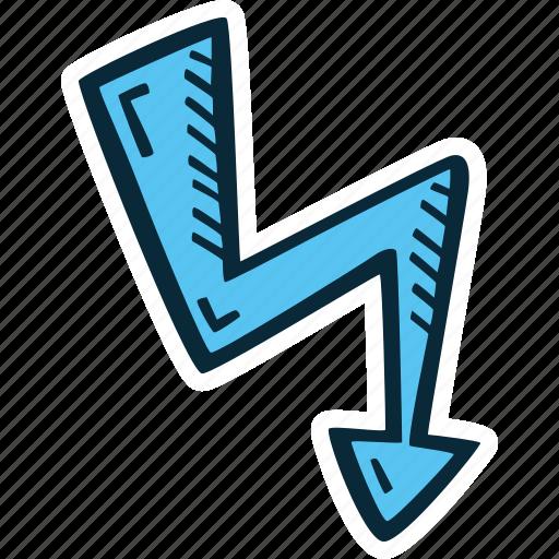 achievement, action, energy, lightning, success icon