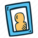 frame, photograph, picture, portrait, profile icon