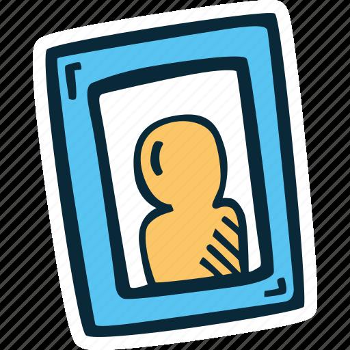 frame, photograph, picture, portrait, profile icon