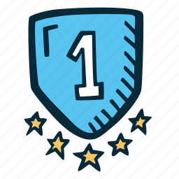 achievement, action, direction, goal, shield, success icon