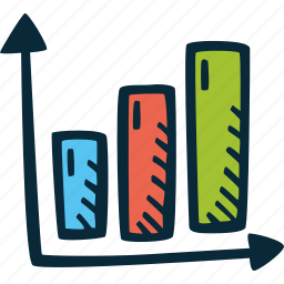 achievement, action, bar, direction, goal, graph, success icon