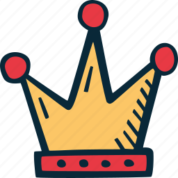 achievement, action, crown, direction, goal, king, success icon