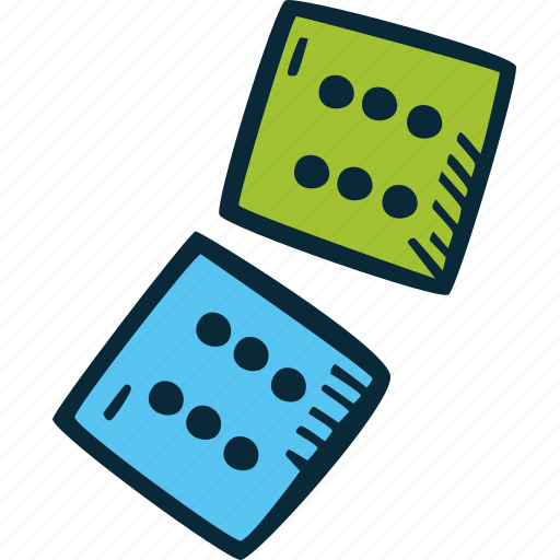 dice, game, puzzle, strategy, success, win icon