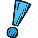 achievement, action, direction, exclamation, goal, mark, success icon