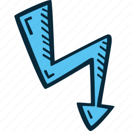 achievement, action, energy, lightning, success icon