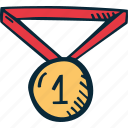 achievement, award, goal, medal, prize, success icon
