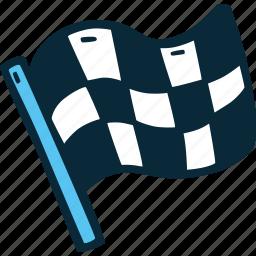 achievement, action, direction, flag, goal, race, success icon