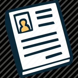achievement, cv, direction, goal, job, resume, success icon