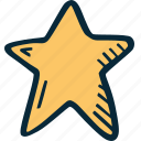 achievement, action, direction, goal, star, success icon