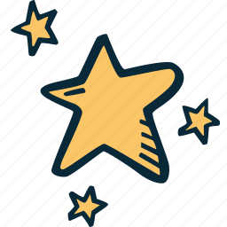 achievement, action, direction, goal, stars, success icon