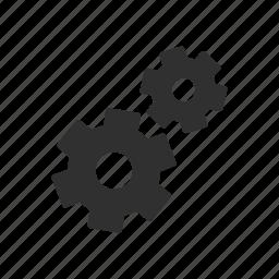 cogs, gears, menu, settings icon