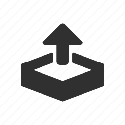arrow up, file, up, upload icon
