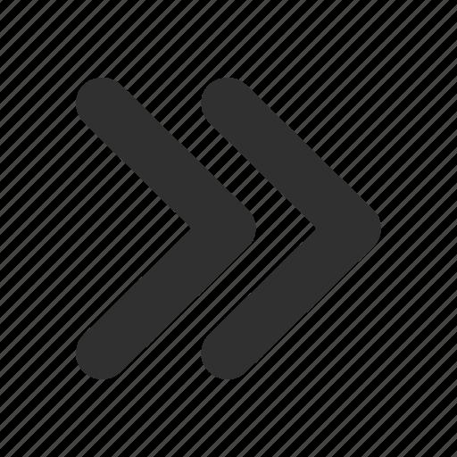 arrow, fast foward, forward, next icon