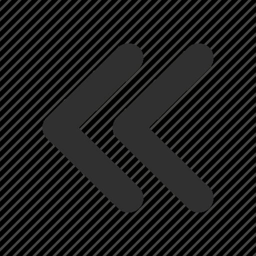 arrow, back, backward, previous icon