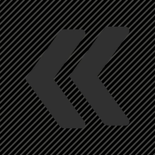 arrow back, back, backward, previous icon