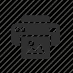 file, image, print, printer icon