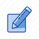 create, edit, pencil, write icon