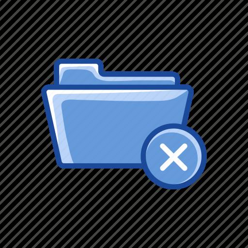 delete, delete folder, files, folder, remove folder icon