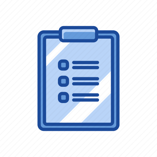 checklist, list, text, to do list icon