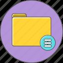 directory, folder, server icon