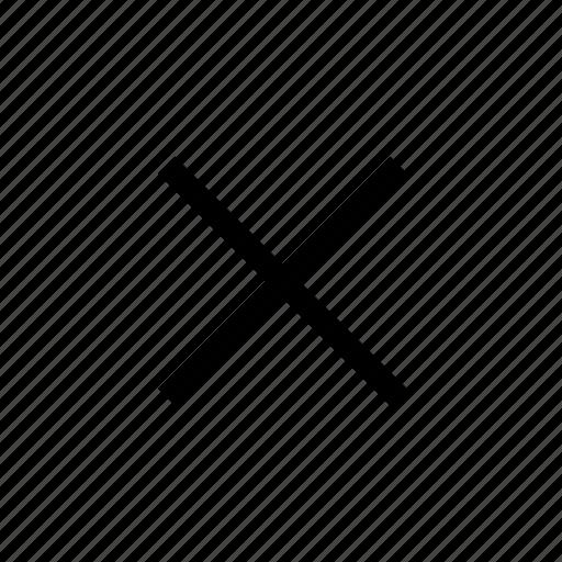 Close, delete, remove, cancel, exit icon - Download on Iconfinder