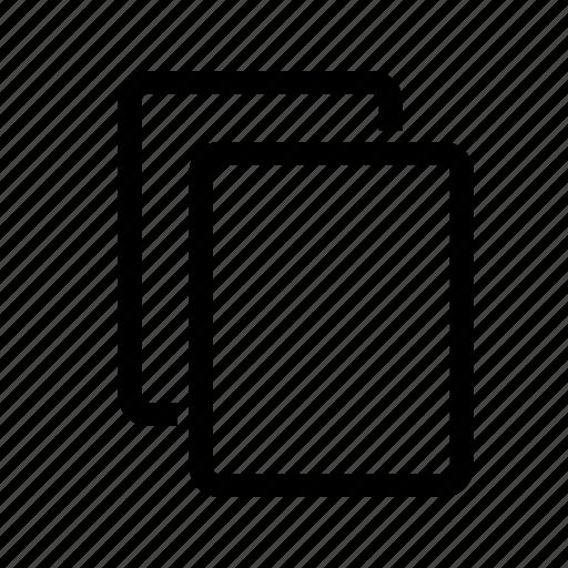 copy, document, documents, file icon