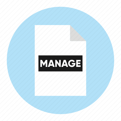 action, document, file, manage, paper icon