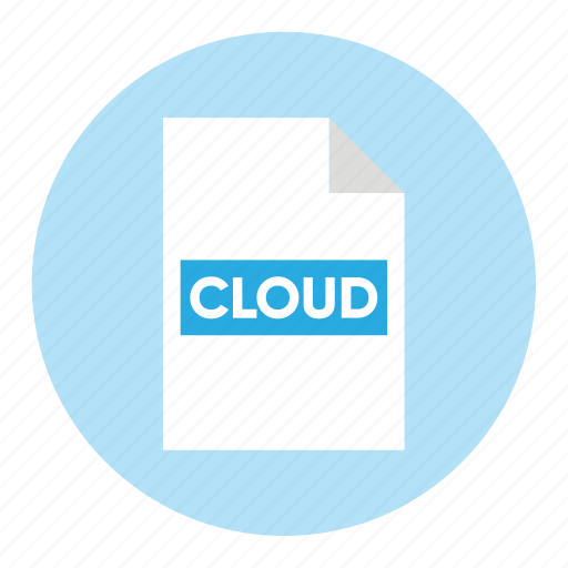 action, cloud, document, file, paper icon