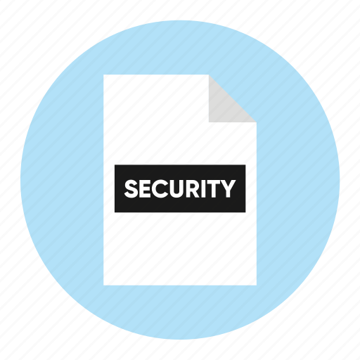 action, document, file, paper, security icon