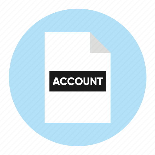 account, action, document, file, paper icon
