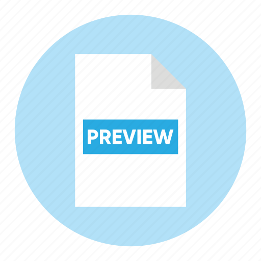 action, document, file, paper, preview icon
