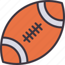 rugby, ball, american, football, sport