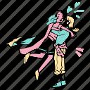 love, wins, hug, romance