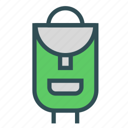 backpack, bag, luggage, mountain, pack, travel, trecking icon