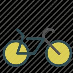 bicycle, bike, cycling, sport, training icon