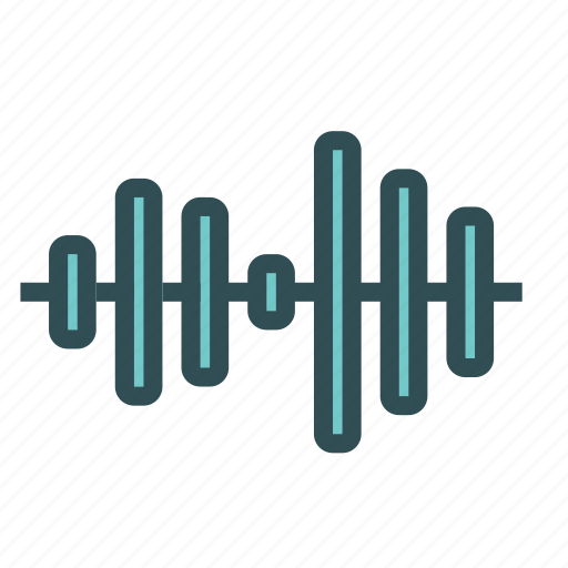 equalizer, graph, levels, media, music icon